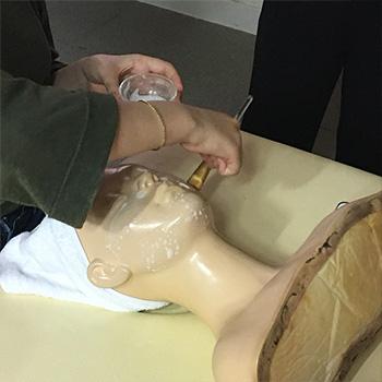피부국가자격증 효소 딥클렌징 수업